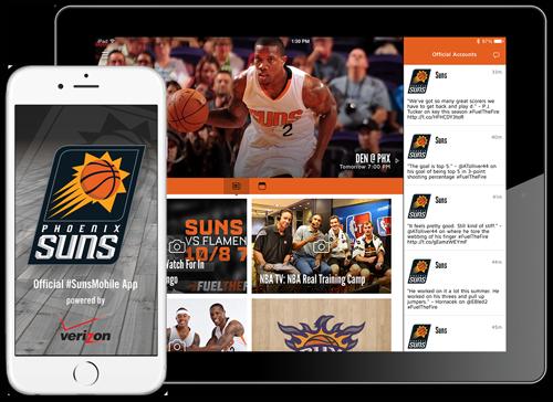 Suns Mobile App