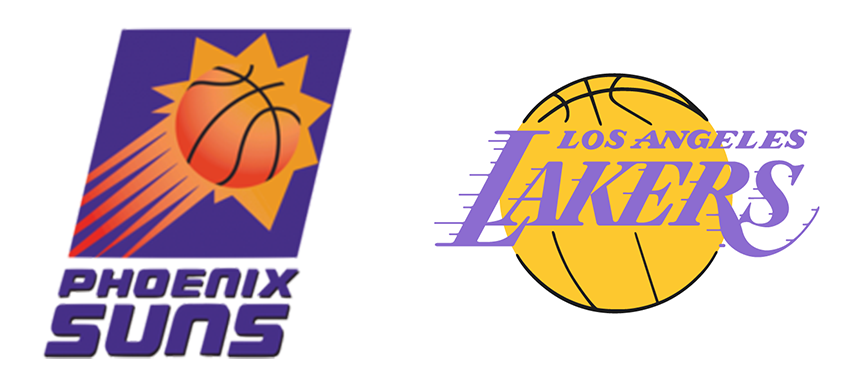 Phoenix Suns vs Los Angeles Lakers 1993 NBA West Semifinals Game 5