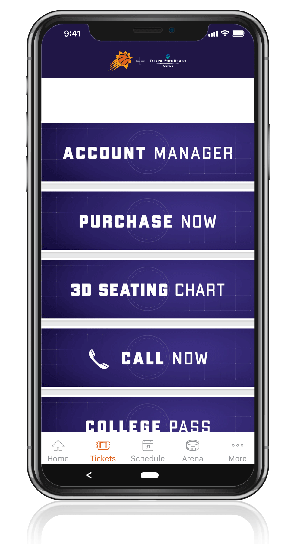 Access Your Tickets - Step Two