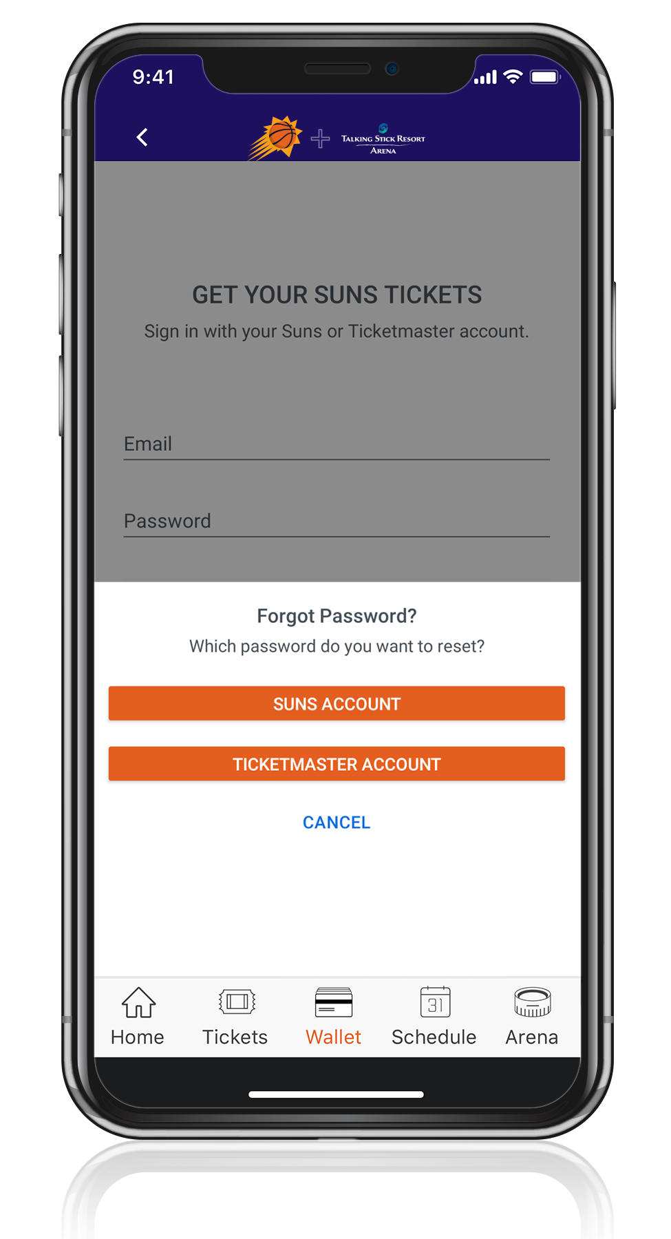 Access Your Tickets - Step Five